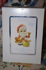 Precious Moments Figurine NIB  May Your Christmas Ring With Joy 101067