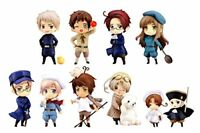 One Coin Grande Figure Collection Hetalia Axis Powers Complete 9 set From JAPAN