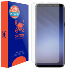 Skinomi Anti-Glare Matte Screen Protector for Galaxy S9 Plus Case Friendly 2Pack
