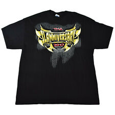 TNA Impact SLAMMIVERSARY 2013 Commemorative XL Wrestling T-Shirt Boston WWE AEW