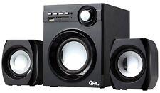 QFX2.1 CHANNEL NFC BLUETOOTH FM RADIO HOME STEREO SPEAKER SYSTEM USB/SD PORT