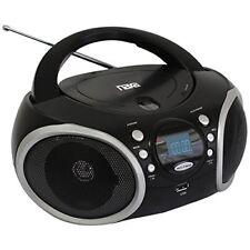 Naxa[r] Npb-276 Portable Mp3/cd Player With Am/fm Analog Radio & Usb Input
