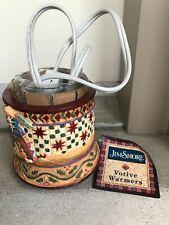 Jim Shore's Heartwood Creek nativity Candle warmer