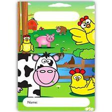 German Trendseller® - 8 x Bauernhof Party Tüten | Loot | für Kinder | Farm Tiere