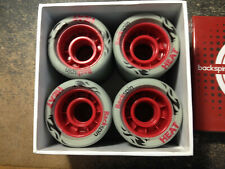 Backspin Heat Roller Derby/Speed Or Jam Wheels Set Of 8 New 62 mm x 42 mm 97A
