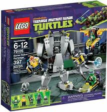 LEGO Teenage Mutant Ninja Turtles Baxter Robot Rampage Set 79105