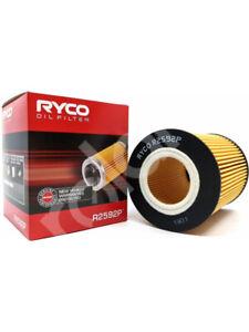 Ryco Oil Filter FOR BMW 3 SERIES E36 (R2592P)
