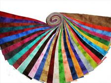 34 2.5 Inch Quilting Fabric Jelly Roll Strip Marble 34 Different Colorways/WOF