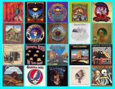 GRATEFUL DEAD ALBUM COVERS  (20  covers)   PHOTO FRIDGE MAGNETS
