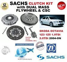 FOR SKODA OCTAVIA 1Z3 1Z5 1.9 2.0 TDi CLUTCH KIT 2004-ON w FLYWHEEL CSC BOLTS