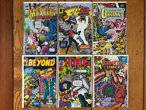 1963 #1-6 (Image 1993) FULL RUN by Alan Moore Rick Veitch Chester Brown Bissette