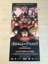 "ATTACK ON TITAN Part 2 Original Movie Poster Anime Manga 12x27"""