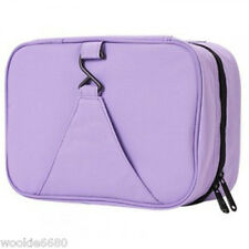 HANGING ZIPPERED TRAVEL TOILETRY MAKE UP- LAVENDER - BAG IN BAG