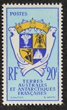Z364 FSAT TAAF Fr. Southern Antarctic 1959 #15 Court of Arms Mint Lightly Hinged