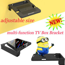 Universal Wall Mount Set Top Box Stand Bracket 100-138mm For Android TV Box