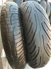 2 MICHELIN PILOT ROAD 4 GT TIRES FRONT REAR PAIR SPORTS MOTORCYCLES 17 SET OF 2