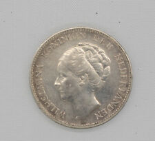 Niederlande Utrecht Wilhelmina Gulden 1931 Silber #GEB58