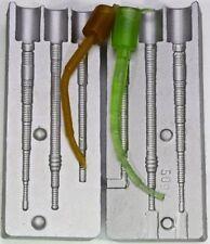 Ver moule de silicone 3 Vers 7.5 cm - 9 cm EXCELLENT Shad/Leurre Grub Appât Mouler