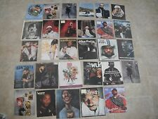 Lot of 29 Magazine Photo Calendar Pictures Method Man Wu-Tang