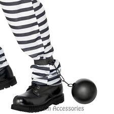 A512 Prisoner Ball and Chain Convict Police  Bucks Night Stag Wedding Costume