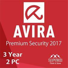 Miglior Antiviurs,Avira Pro 2017 Premium Di sicurezza 3 anni 2 PC codice licenza