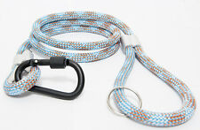 "Designer Dog leash / Lead extra strong 50"" (130cm) with Carabiner RRP £25"