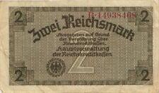 Ro.552a 2 Reichsmark (1939) Reichskreditkasse (3) 7-stellig