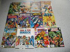 New listing Dc Comic Book Lot Wonder Woman Shazam New Teen Titans Legion of Super Heroes