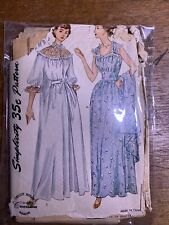 1950s Vintage Sewing Pattern Simplicity 3401