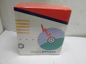 New Sealed Vintage QuarkXPress 3.32 Power Macintosh Mac Software Quark Xpress