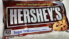 Hershey's Sugar Free Chocolate Baking Chips 4 ~ 8 oz. Bags