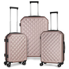 3 Piece Sets HardShell  PC+ABS Spinner Suitcase 20 inch 24 inch 28 inch