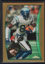 TONY MARTIN 1998 TOPPS CHROME #31 REFRACTOR CHARGERS SP MINT
