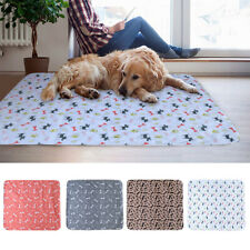 Water Absorbant Pet Mat Reusable Dog Pee Mats Large Puppy Training Pad Small Bed