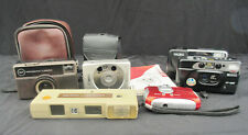 JOB LOT O - 6 VARIOUS CAMERAS ALL UNTESTED (CHARITY SALE)
