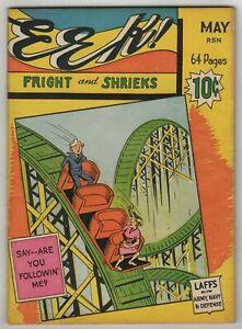 EEK! (1942) #1 Centaur Army Navy Risque Humor Digest Harry Sahle Edd Ashe VG/FN