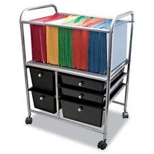 Advantus Letterlegal File Cart With 5 Storage Drawersblack Avt34100