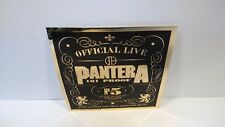 "5"" Vinyl PANTERA Gold Mylar 101 PROOF Sticker CHEAP!!! Dimebag METAL Vinnie"