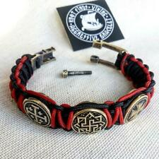 Templar bracelet / paracord bracelet / gift for him / illuminati items