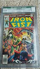 Iron fist #15 ,1977 qualified cgc 5.0