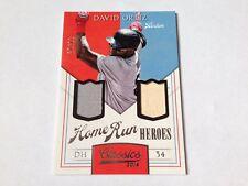 David Ortiz 2014 Panini Classics Game Used Jersey/Bat #/99 Boston Red Sox