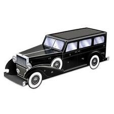 Roaring 20's Gangster Car Centerpiece. party decoration