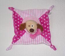 Simba Toys ABC Hund Hündchen rosa Punkte Schmusetuch Kuscheltuch Schnuffeltuch