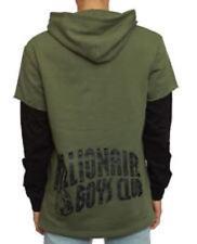 NEW BBC Billionaire Boys Club Green Black Long Sleeve Hoodie Sweater Medium M