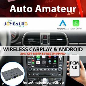 Porsche PCM 3.0 Apple CarPlay & Android Auto (Wireless)