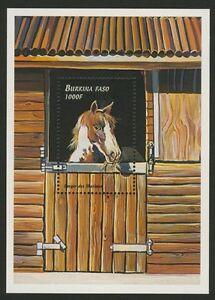 Burkina Faso 1149-51 MNH Horse, Cat, Dog