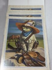 8 Billy The Kid Greeting Card by Bryan Moon Cards Blank Wild West  22708