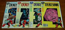 Deadshot #1, 2, 3, 4 issue mini-series full Batman/ Suicide Squad VF- to VF+ DC
