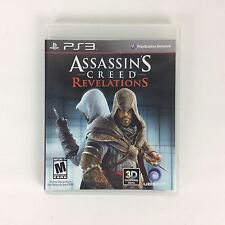 Assassins Creed Revelations PS3 Sony PlayStation 3 Rated M 2011