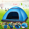 2-3 Person Automatic Apace Pop Up Waterproof Outdoor Camping Hiking Beach Tent